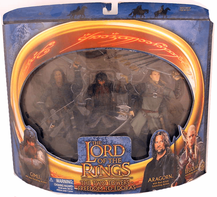 Lord of the Rings The Two Towers Freedom to Edoras Set