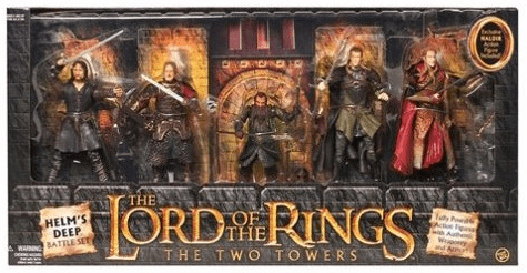 Lord of the Rings The Two Towers Helm's Deep Battle Action Figure Set