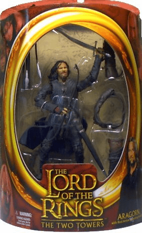 Lord of the Rings Two Towers Aragorn Action Figure