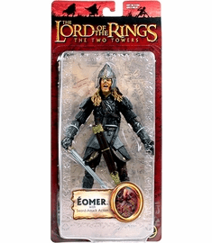 Lord of the Rings Two Towers Eomer with Sword Attack Action Figure