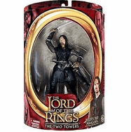Lord of the Rings Two Towers Helm's Deep Aragorn Figure