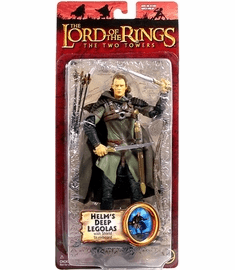 Lord of the Rings Two Towers Helm's Deep Legolas Action Figure