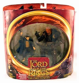 Lord of the Rings Two Towers Merry and Grishnakh Figure Set