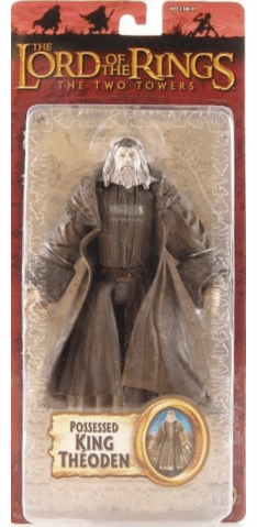 Lord of the Rings Two Towers Possessed King Theoden Action Figure