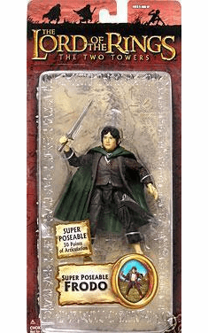 Lord of the Rings Two Towers Super Poseable Frodo Action Figure