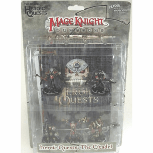 Mage Knight Dungeons Heroic Quests The Citadel Miniature Set