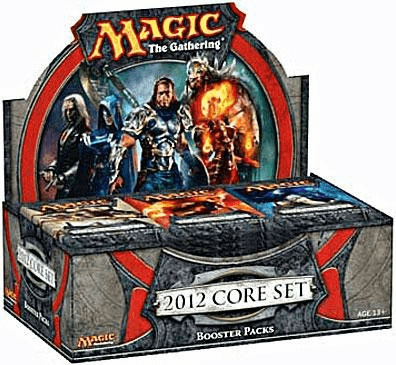 Magic The Gathering 2012 Core Set Sealed Booster Box