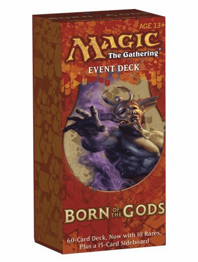 Magic The Gathering Born of the Gods Underworld Herald Event Deck