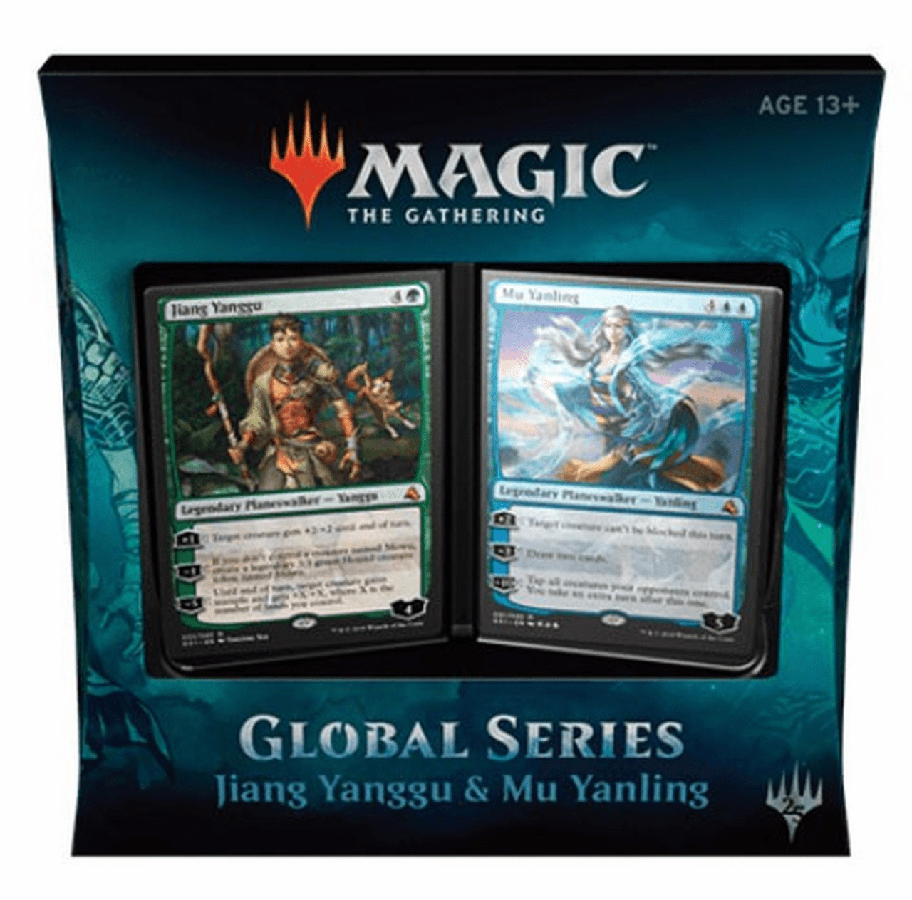 Magic The Gathering Global Series Jiang Yanggu & Mu Yanling Duel Deck