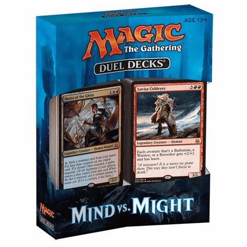 Magic The Gathering Mind vs. Might Duel Deck