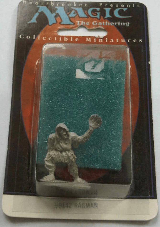 Magic The Gathering Ragman Collectible Miniature