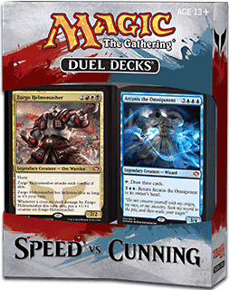 Magic The Gathering Speed vs. Cunning Duel Deck