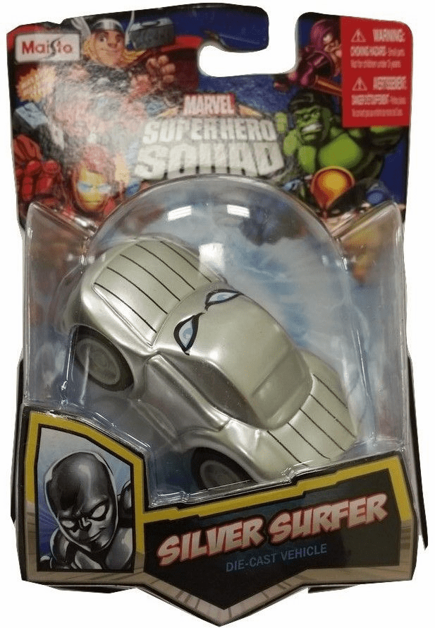 Maisto Marvel Super Hero Squad Silver Surfer Car