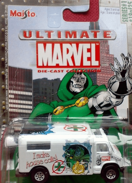 Maisto Ultimate Marvel Die-Cast Doctor Doom Ambulance