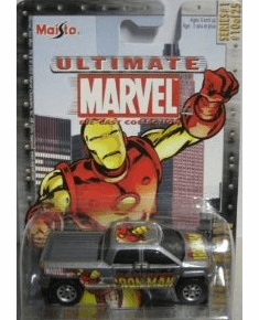 Maisto Ultimate Marvel Die-Cast Iron Man GMC Terradyne Truck