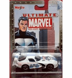 Maisto Ultimate Marvel Die-Cast Punisher Dodge Viper Car