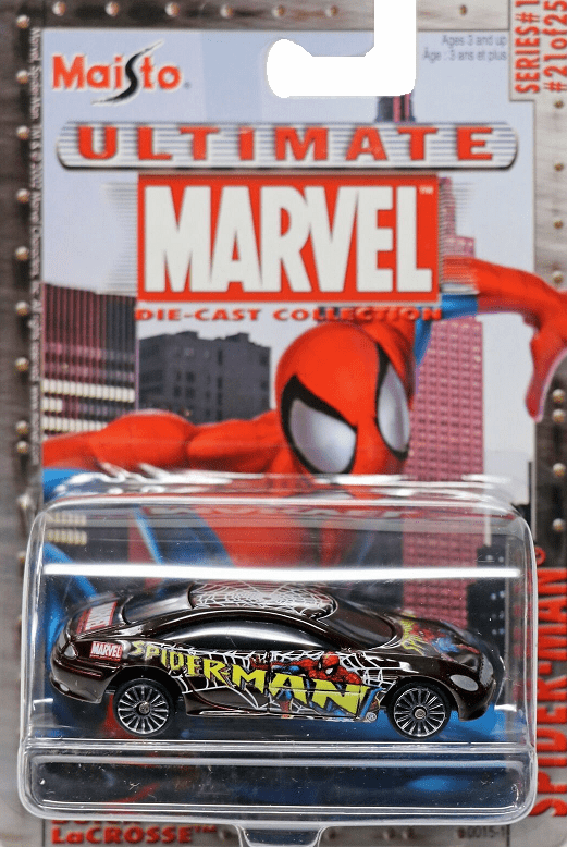 Maisto Ultimate Marvel Die-Cast Spider-Man Buick LaCrosse Car