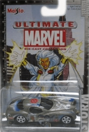 Maisto Ultimate Marvel Die-Cast Storm Chrysler Atlantic Car