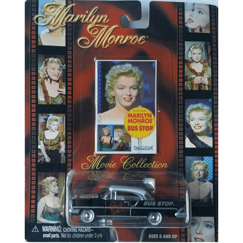 Marilyn Monroe 1957 Lincoln Diecast Car