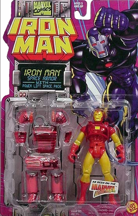Marvel Action Hour Iron Man Space Armor Figure