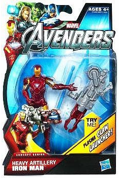 Marvel Avengers Concept Series Heavy Artillery Iron Man Figure