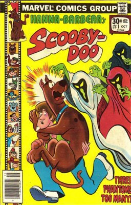 Marvel Comics 1977 Hanna-Barbera's Scooby-Doo #1 Comic Book