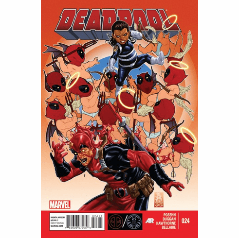 Marvel Comics 2012 Deadpool #24 Comic Book
