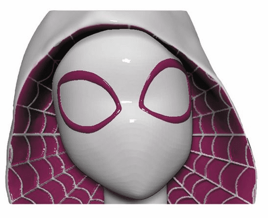 Marvel Comics Spider-Gwen Molded Head Ceramic Mug