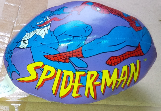 Marvel Comics Spider-Man and Venom Mini Football