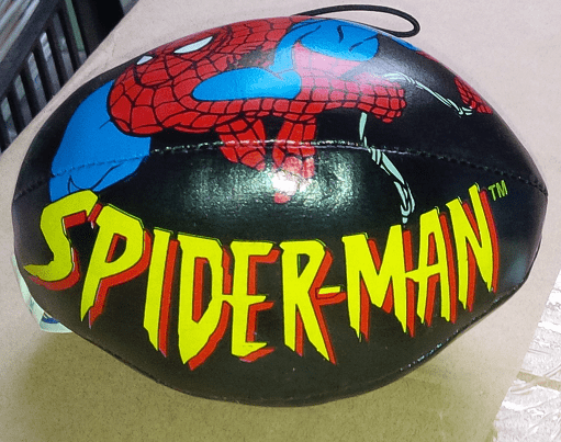 Marvel Comics Spider-Man Mini Football