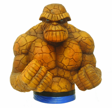 Marvel Comics The Thing Bust Coin Bank