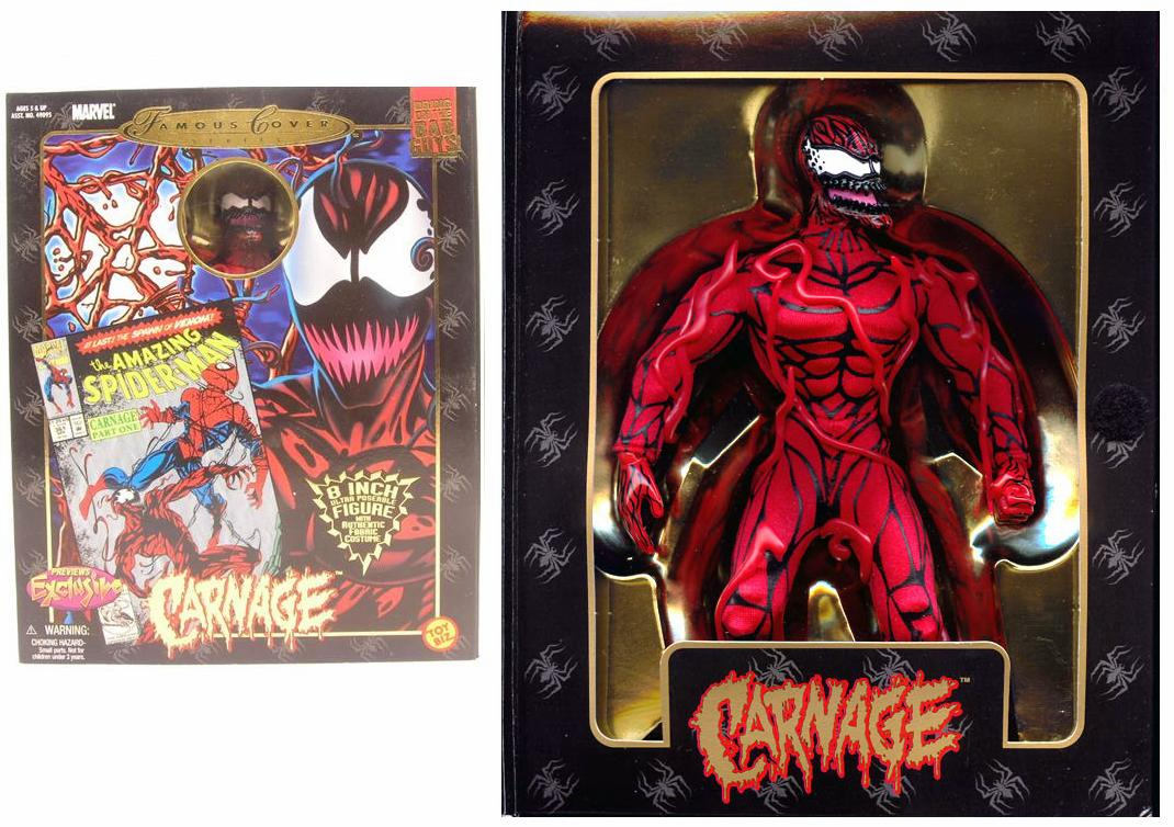 Marvel Famous Covers Carnage Action Figure