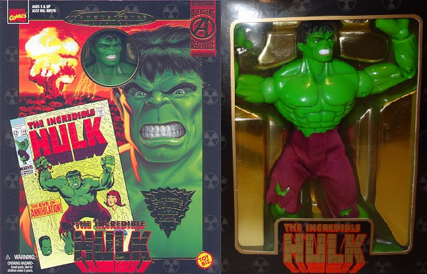 Marvel Famous Covers Incredible Hulk Action Figure