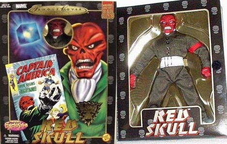 Marvel Famous Covers Red Skull Action Figure