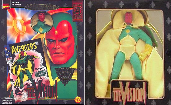Marvel Famous Covers Vision Action Figure