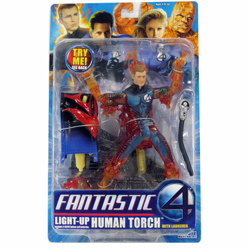 Marvel Fantastic Four Light-Up Human Torch Figure