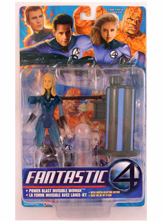 Marvel Fantastic Four Movie Invisible Woman Figure
