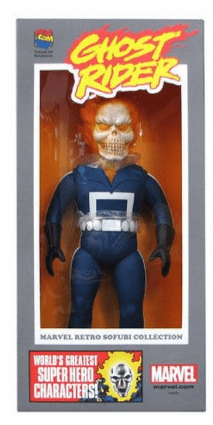 Marvel Hero Ghost Rider Sofubi Vinyl Figure