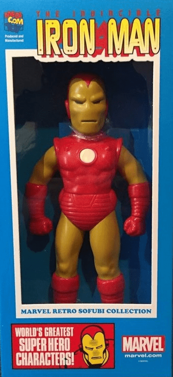 Marvel Hero Iron Man Sofubi Vinyl Figure