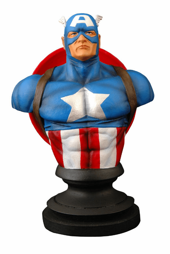 Marvel Icons Captain America Bust