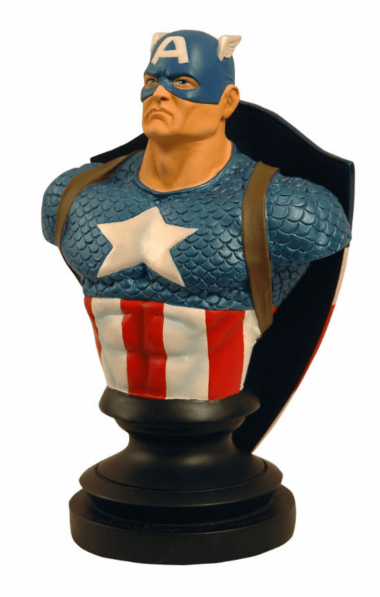 Marvel Icons Silver Age Captain America  Bust
