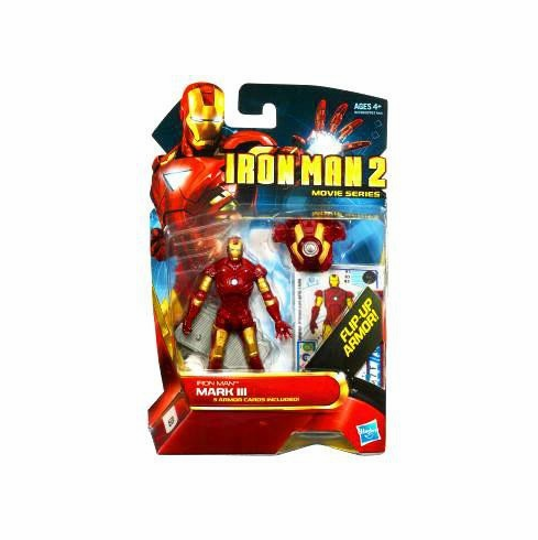 Marvel Iron Man 2 Movie Series #03 Iron Man Mark III Figure