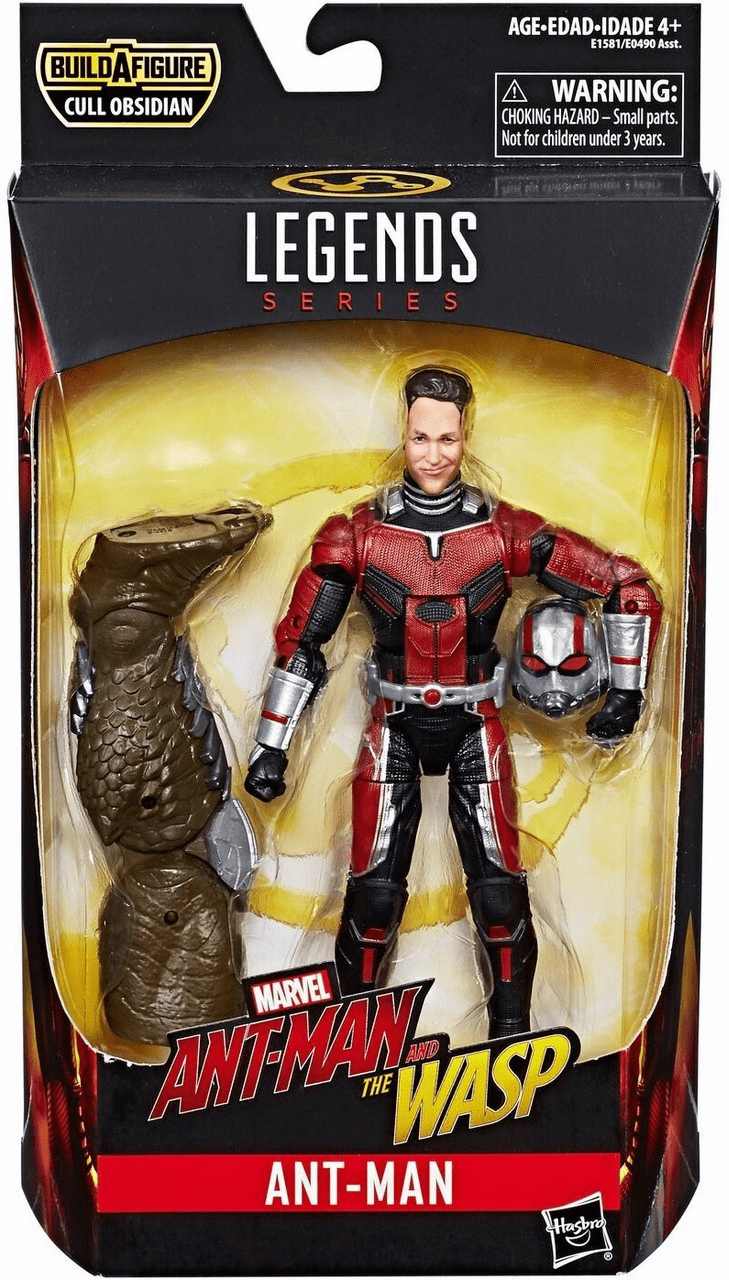 Marvel Legends Cull Obsidian Series Ant-Man Figure