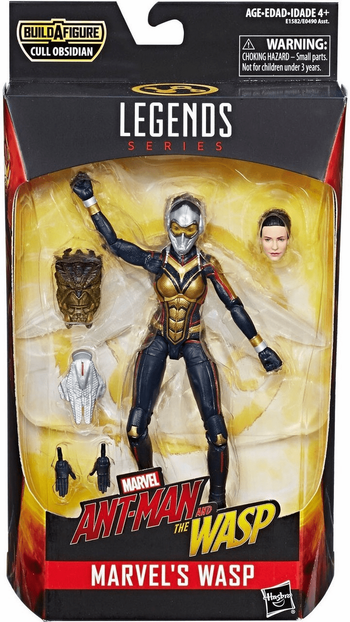 Marvel Legends Cull Obsidian Series Wasp Figure