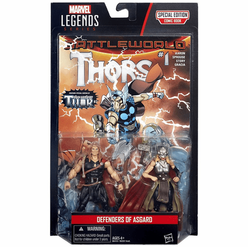 Marvel Legends Defenders of Asgard Odinson and Thor Figure 2-Pack Set