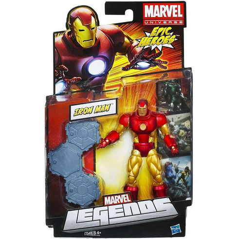 Marvel Legends Epic Heroes Series Iron Man Figure