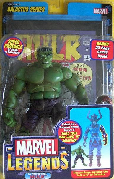 Marvel Legends Galactus Series 9 1st Appearance Green Hulk Figure