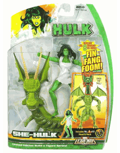 Marvel Legends Hulk Series Savage She-Hulk Action Figure