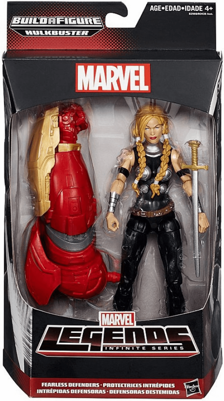 Marvel Legends Hulkbuster Series Valkyrie Figure