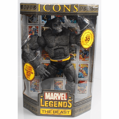 Marvel Legends Icons Grey Beast Figure